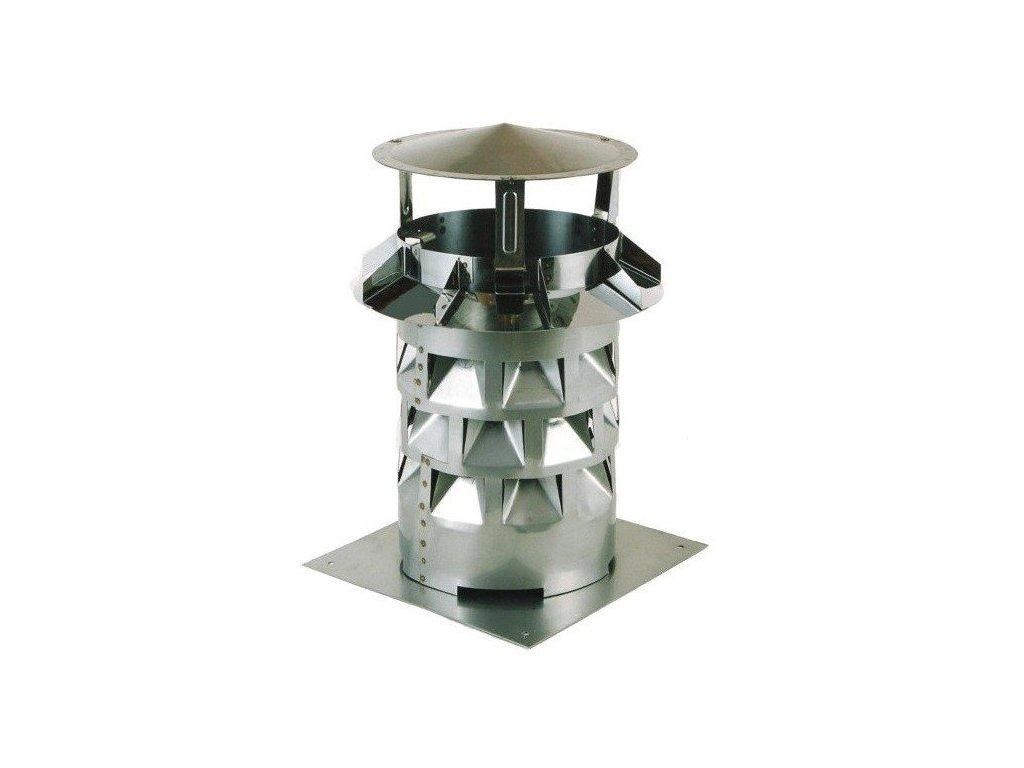 Komínový nástavec EKON s podstavou 200 mm