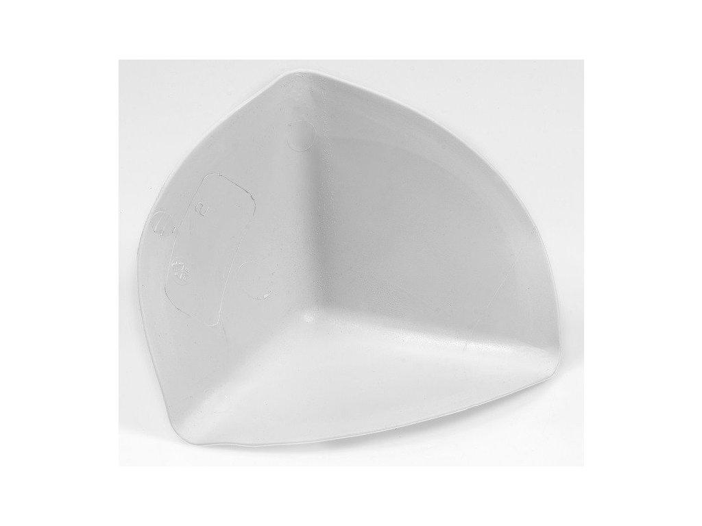 Roh vnitřní kužel PVC - světlé šedý