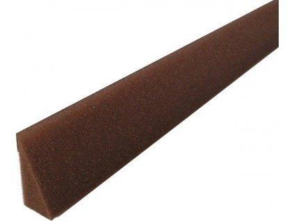 Těsnící klínový pás úžlabí 30 x 60 x 1000 mm - hnědá SAMOLEPICÍ