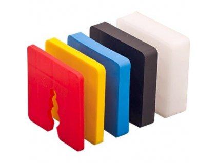 Vyrovnávací podložky zakládací pod soklové lišty 5mm (50ks)