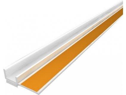 Začišťující okenní APU lišta 9 mm profil k oknu 2,4 m