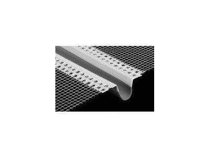 DILATAČNÍ PROFIL průběžný 2,5m PVC lišta