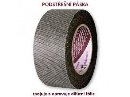 Podstřešní páska na DIFUZNÍ FOLIE (š.50mm / d. 25m)