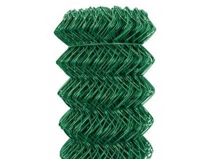Pletivo nezapletené PVC SUPER oko 55 mm, výška 125 cm (drát 3 mm) KOMPAKT
