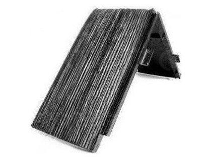 Hřebenáč DDH II dřevěný šindel Drdlíkův plastový EUREKO na 25° černá
