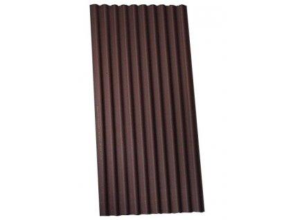 Střešní vlnitá deska bitumenová HNĚDÁ Onduline 1,9m2