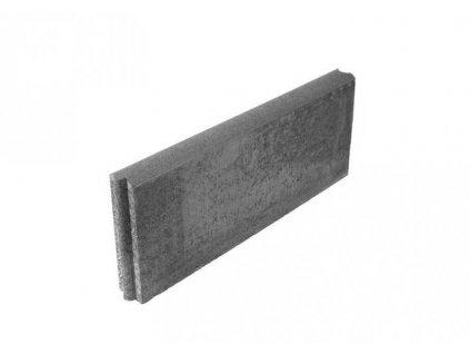 Betonový obrubník parkový 50 x 5 x 20 cm HRONEK šedá