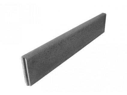 Betonový obrubník parkový 100 x 5 x 25 cm HRONEK šedá