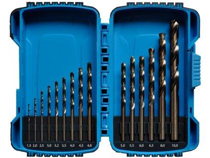 Sada vrtáků 1-10mm 15dílů cobalt XTline