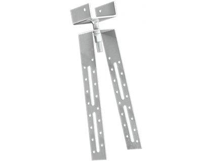Držáky hřebenové latě 40 mm regulovaný