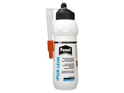 Polyuretanové lepidlo Ponal 420g Construct PROFI transparentní
