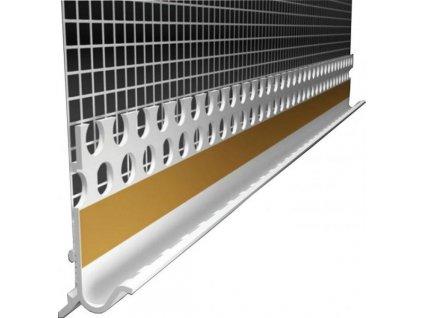 LO Okapnice s tkaninou okapní lišta na soklové lišty - 2,5m