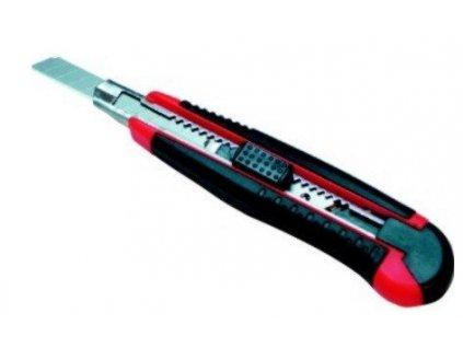Nůž odlamovací 9 mm pogumovaný Lobster SX900 + 5břitů
