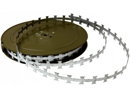 Žiletková páska plochá Zn šířka 2 cm / 50 m Pilecký