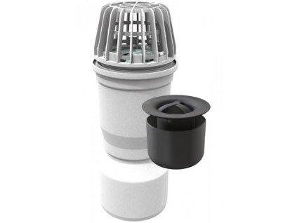 Odtoková přípojka s pachovým uzávěrem pro sklepní světlík ACO