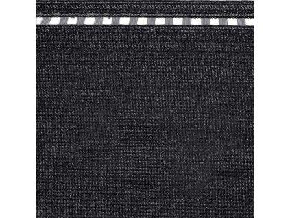 Černá síť na plot 100% síťka 1,5 x 5 m COIMBRA (230g/m2)