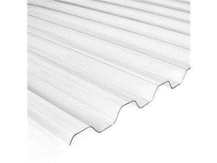 Prosvětlovací desky sklolaminát plechová krytina TRAPÉZ T18 Plus Eco 2 m