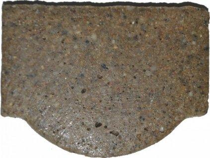 Koncovka záslepka žlabu 125 x 100 mm pro polymerbetonové žlaby MALÁ