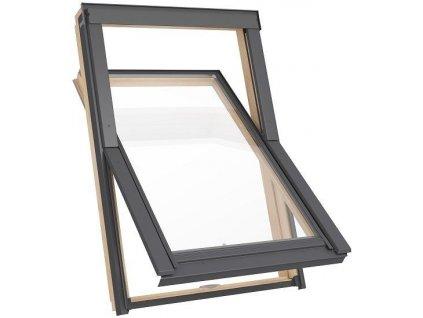 Dřevěné střešní okno RoofLITE Solid Pine - 55x78cm