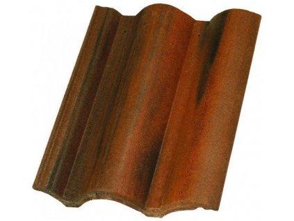 Střešní krytina taška Mediterran COPPO antická červená betonová krytina