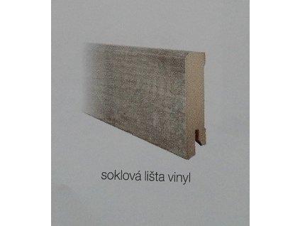 Podlahová lišta soklová k vinylovým podlahám 2 400 mm