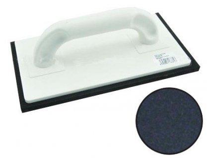 Hladítko plastové pryž černá 250 x 140 x 8 mm