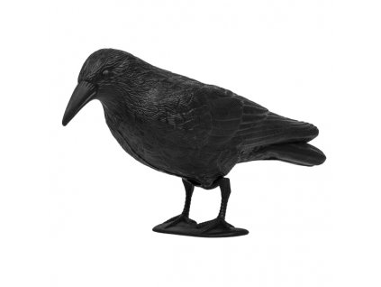 Havran plastová 3D maketa na plašení ptáků Bradas CTRL-BR101