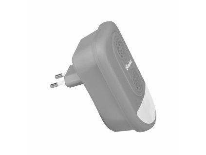 Elektrický odpuzovač hlodavců a hmyzu s LED lampou Bradas CTRL-ID302V