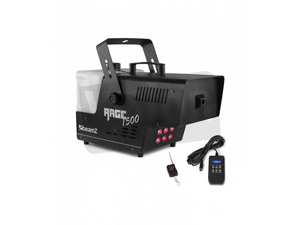 60002750 yy 0002 logo Beamz Rage 1500 LED Nebelmaschine 5L Liquid
