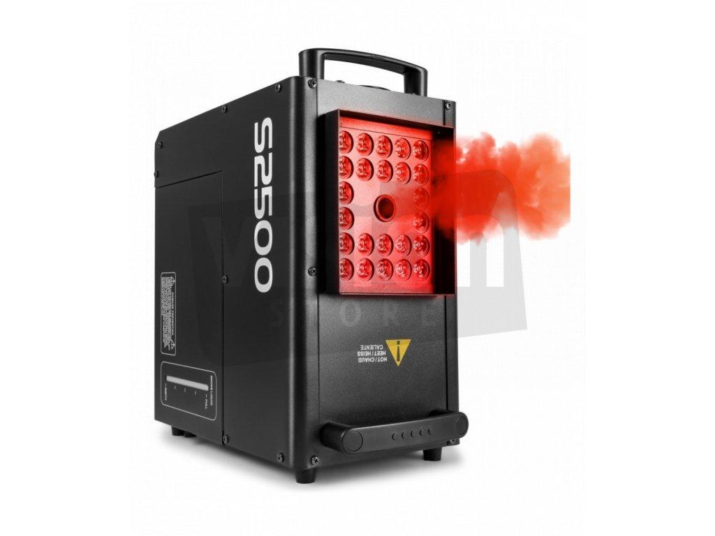 beamz s2500 dmx vyrobnik mlhy s led 24x 10w qcl