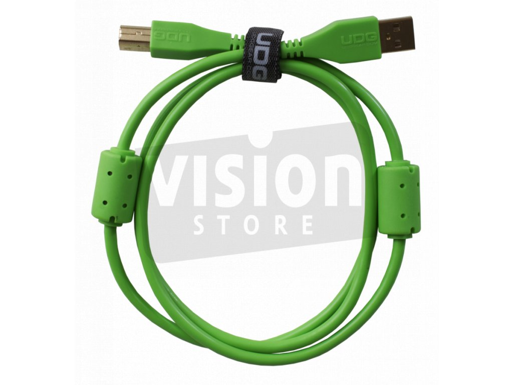 001 udg cable straight green