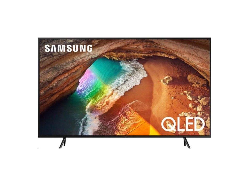 """SAMSUNG QE65Q60R 65"""" QLED 4K TV (2019) - po opravě - skrabance- stav(neni jako novy)"""
