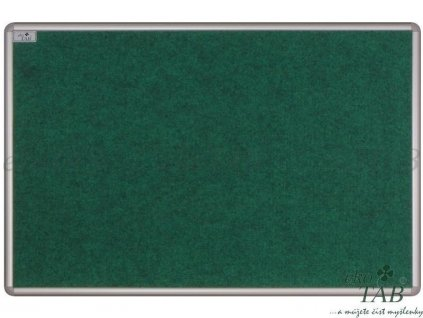 ekoTAB nástěnka textilní pro lištový systém HORIZONT