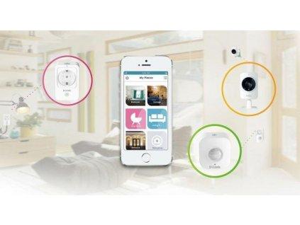 D-Link DCH-100KT mydlink Home Smart Starter Kit, 1 x DCS-935L + 1 x DSP-W215 + 1 x DCH-S150