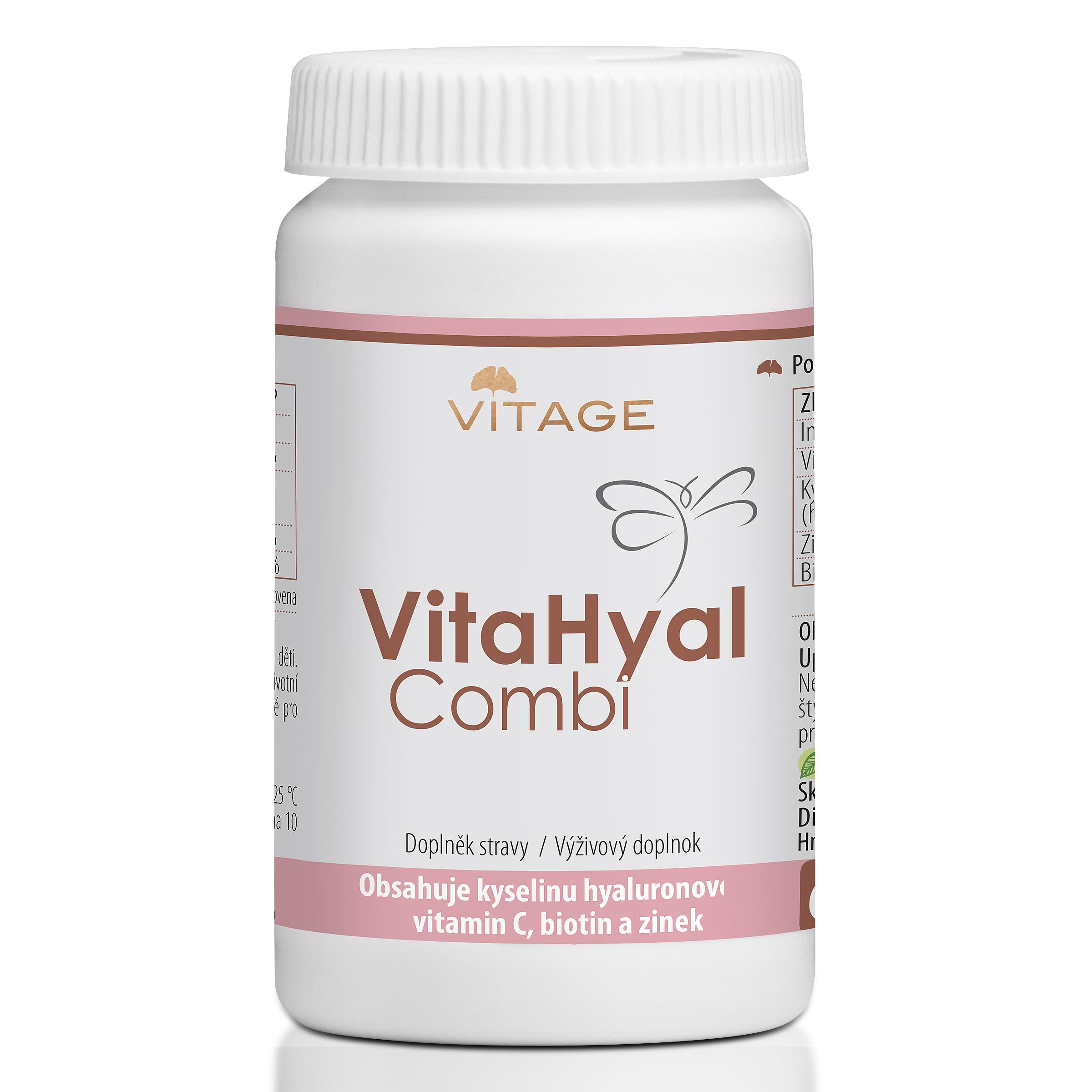 Je možné užívat přípravky Kyselina hyaluronová Vitage a VitaHyal Combi současně?