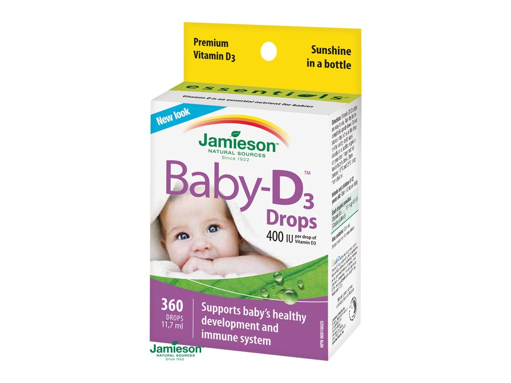 1709 jamieson baby d vitamin d3 400 iu kvapky 11 7ml