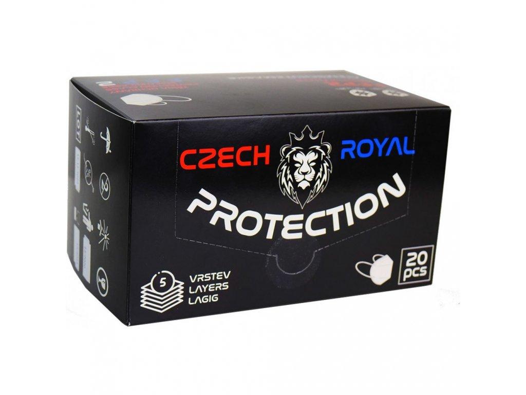 Respirátor Czech Royal Protection FFP2_2