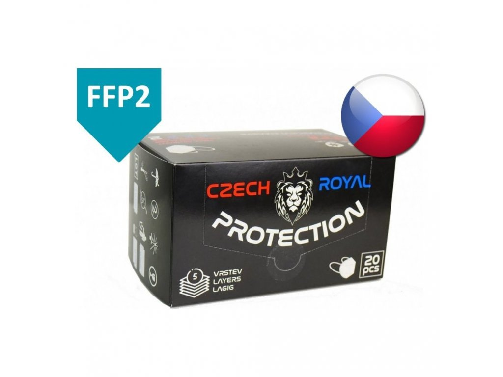 Respirátor Czech Royal Protection FFP2