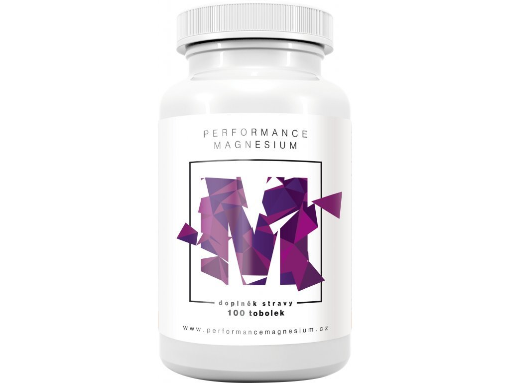 BrainMax - Performance Magnesium 1000 mg 100 kapslí Hořčík