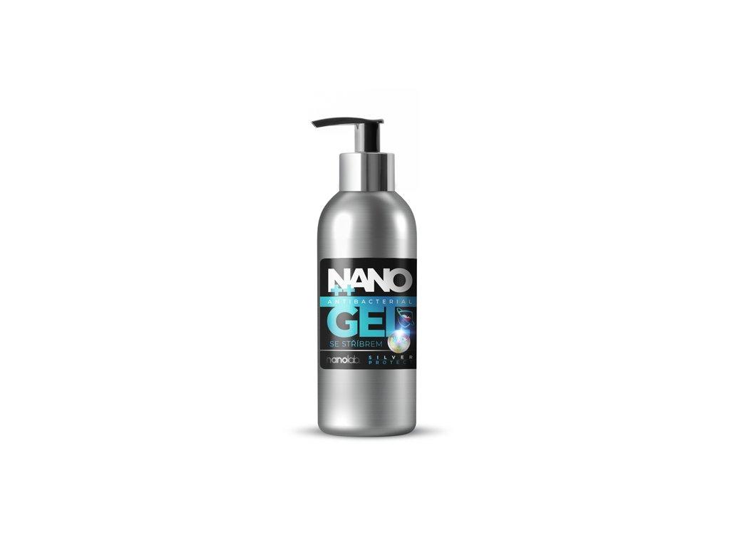 Nano Silver gel 180ml dezinfekce na ruce