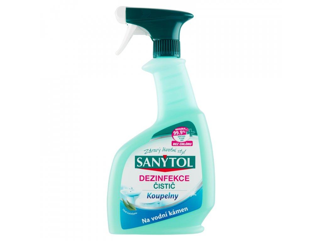 Sanytol dezinfekce čistič - koupelny 500ml