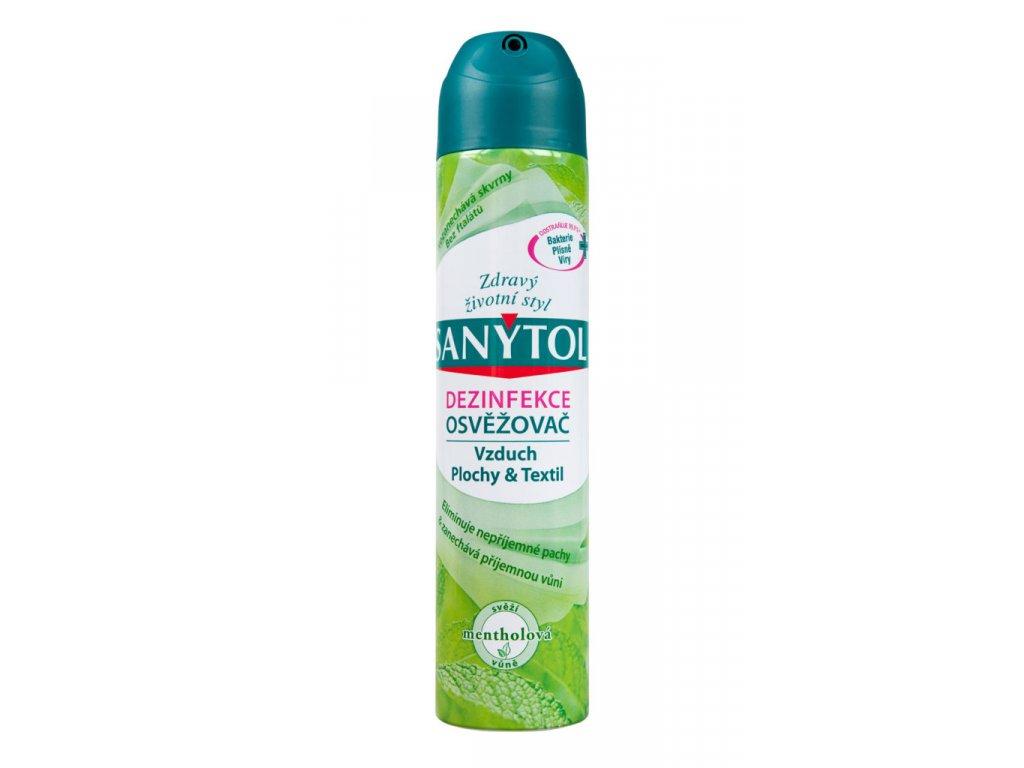Sanytol dezinfekční osvěžovač vzduchu 300 ml - mentol