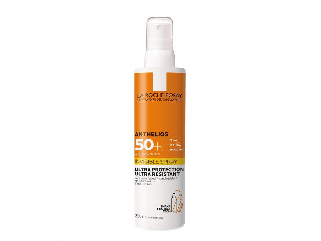 LA ROCHE-POSAY Anthelios Shaka Ultralehký sprej pro citlivou pokožku obličeje i těla SPF 50+ 200 ml