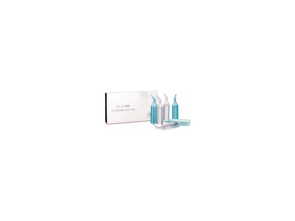 Nu Skin Galvanic Spa System Facial Gels balení 8 x 4 ml