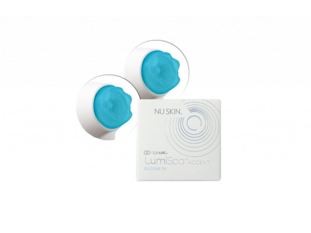 Nu Skin ageLOC LumiSpa Accent – Náhradní modré silikonové hroty k nástavci pro rozjasnění očního okolí