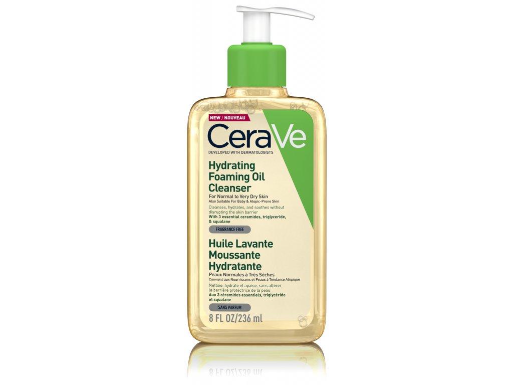CERAVE Hydratační čistící pěnící olej 236ml