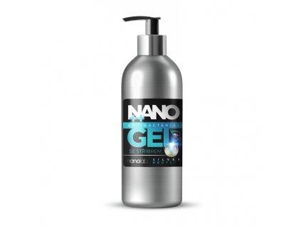 Nano Silver gel 300ml dezinfekce na ruce