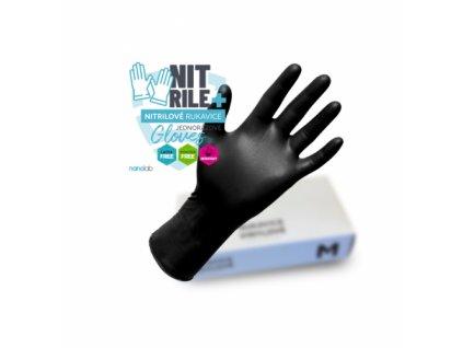 Nitrilové rukavice
