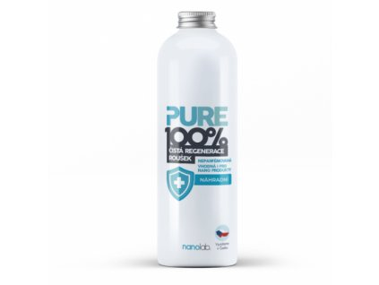 Regenerace roušek a respirátorů PURE 100% náhradní náplň 1 litr