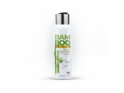 Jemný prací gel na šátky a roušky BAMBOO Gold 100ml